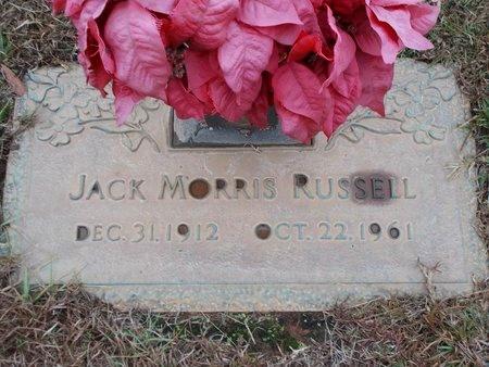 RUSSELL, JACK MORRIS - Ouachita County, Louisiana   JACK MORRIS RUSSELL - Louisiana Gravestone Photos