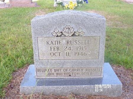 RUSSELL, KATIE - Ouachita County, Louisiana   KATIE RUSSELL - Louisiana Gravestone Photos
