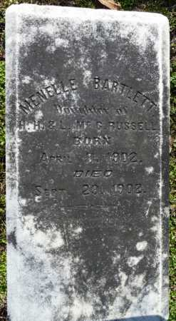 RUSSELL, MENELLE BARTLETT - Ouachita County, Louisiana | MENELLE BARTLETT RUSSELL - Louisiana Gravestone Photos