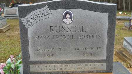 RUSSELL, MARY FREDDIE (OBIT) - Ouachita County, Louisiana | MARY FREDDIE (OBIT) RUSSELL - Louisiana Gravestone Photos