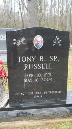 RUSSELL, TONY B, SR - Ouachita County, Louisiana   TONY B, SR RUSSELL - Louisiana Gravestone Photos