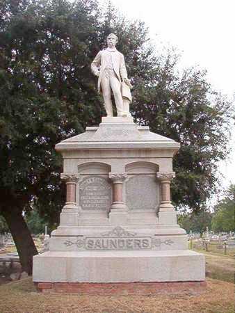 SAUNDERS, MONUMENT - Ouachita County, Louisiana | MONUMENT SAUNDERS - Louisiana Gravestone Photos