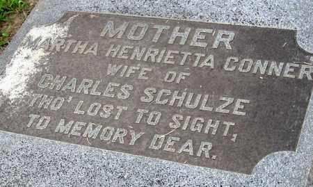 "CONNER SCHULZE, MARTHA HENRIETTA ""ETTA"" (CLOSE UP) - Ouachita County, Louisiana   MARTHA HENRIETTA ""ETTA"" (CLOSE UP) CONNER SCHULZE - Louisiana Gravestone Photos"