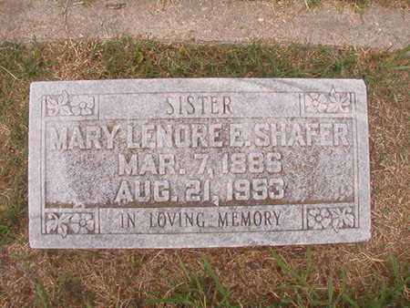 SHAFER, MARY LENORE - Ouachita County, Louisiana | MARY LENORE SHAFER - Louisiana Gravestone Photos