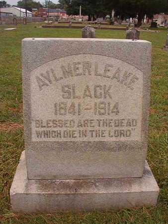 SLACK, AYLMER LEAKE - Ouachita County, Louisiana   AYLMER LEAKE SLACK - Louisiana Gravestone Photos