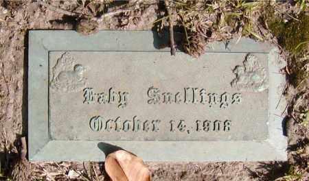 SNELLINGS, BABY - Ouachita County, Louisiana | BABY SNELLINGS - Louisiana Gravestone Photos