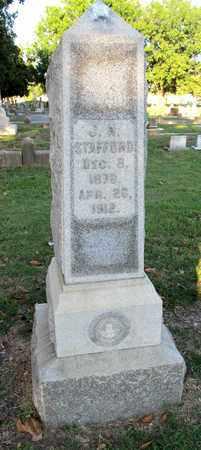 STAFFORD, J N - Ouachita County, Louisiana   J N STAFFORD - Louisiana Gravestone Photos