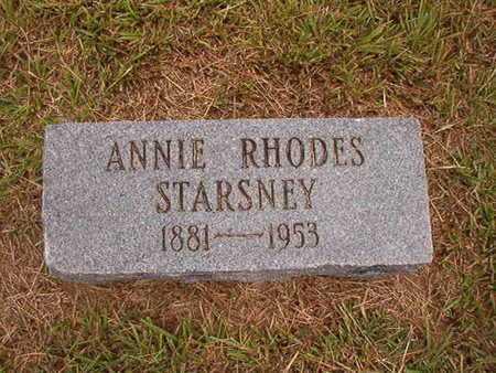 STARSNEY, ANNIE - Ouachita County, Louisiana   ANNIE STARSNEY - Louisiana Gravestone Photos
