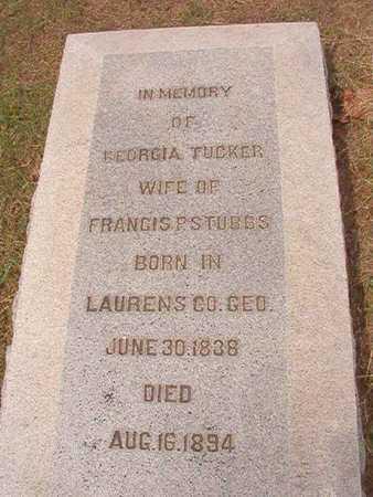 STUBBS, GEORGIA - Ouachita County, Louisiana | GEORGIA STUBBS - Louisiana Gravestone Photos