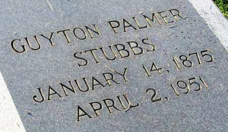 STUBBS, GUYTON PALMER (CLOSE UP) - Ouachita County, Louisiana | GUYTON PALMER (CLOSE UP) STUBBS - Louisiana Gravestone Photos