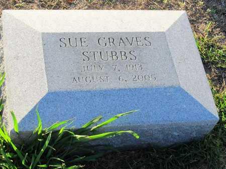 GRAVES STUBBS, SUE - Ouachita County, Louisiana | SUE GRAVES STUBBS - Louisiana Gravestone Photos