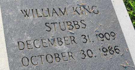 STUBBS, WILLAM KING (CLOSE UP) - Ouachita County, Louisiana | WILLAM KING (CLOSE UP) STUBBS - Louisiana Gravestone Photos