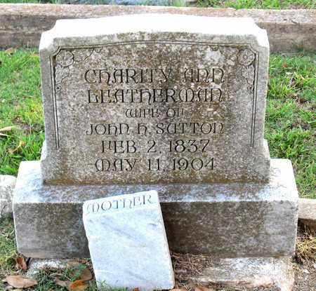 SUTTON, CHARITY ANN - Ouachita County, Louisiana | CHARITY ANN SUTTON - Louisiana Gravestone Photos