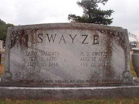 SWAYZE, M D - Ouachita County, Louisiana | M D SWAYZE - Louisiana Gravestone Photos