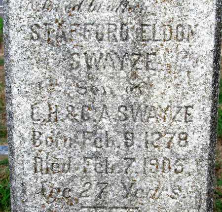 SWAYZE, STAFFORD ELDON (CLOSE UP) - Ouachita County, Louisiana | STAFFORD ELDON (CLOSE UP) SWAYZE - Louisiana Gravestone Photos