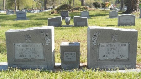 TIDWELL, ARTHUR STEELE - Ouachita County, Louisiana | ARTHUR STEELE TIDWELL - Louisiana Gravestone Photos