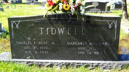 TIDWELL, MARGARET ANN - Ouachita County, Louisiana | MARGARET ANN TIDWELL - Louisiana Gravestone Photos