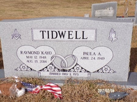 "TIDWELL, RAYNMOND G ""KAYO"" (OBIT) - Ouachita County, Louisiana 