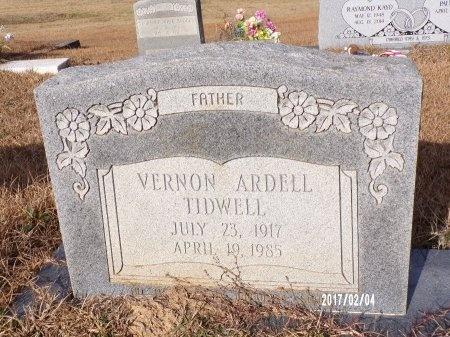 TIDWELL, VERNON ARDELL - Ouachita County, Louisiana | VERNON ARDELL TIDWELL - Louisiana Gravestone Photos