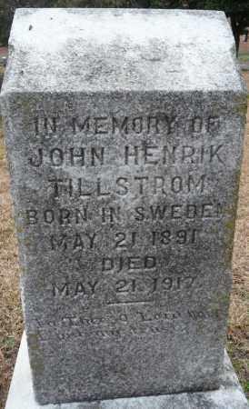 TILLSTROM, JOHN HENDRIK - Ouachita County, Louisiana | JOHN HENDRIK TILLSTROM - Louisiana Gravestone Photos