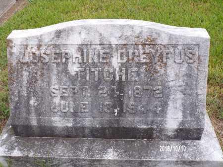TITCHE, JOSEPHINE - Ouachita County, Louisiana   JOSEPHINE TITCHE - Louisiana Gravestone Photos