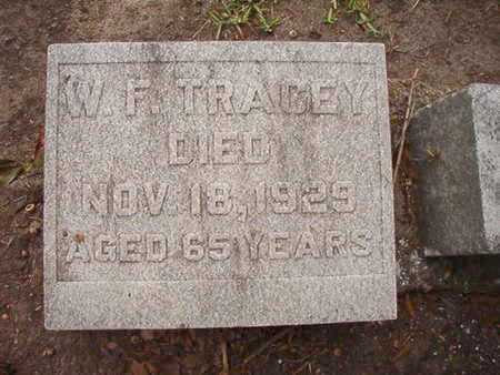 TRACEY, W F - Ouachita County, Louisiana | W F TRACEY - Louisiana Gravestone Photos