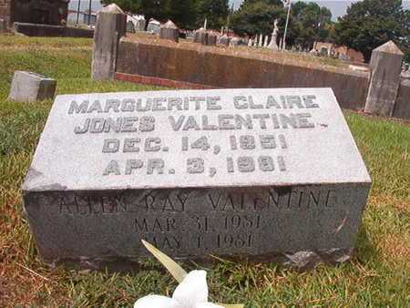 VALENTINE, MARGUERITE CLAIRE - Ouachita County, Louisiana | MARGUERITE CLAIRE VALENTINE - Louisiana Gravestone Photos