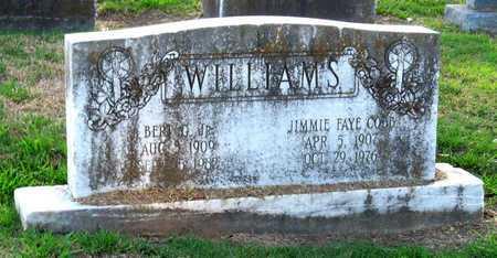COBB WILLIAMS, JIMMIE FAYE - Ouachita County, Louisiana   JIMMIE FAYE COBB WILLIAMS - Louisiana Gravestone Photos