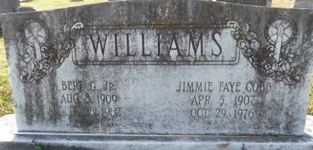 WILLIAMS, JIMMIE FAYE - Ouachita County, Louisiana | JIMMIE FAYE WILLIAMS - Louisiana Gravestone Photos