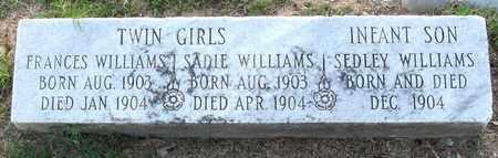 WILLIAMS, SADIE - Ouachita County, Louisiana   SADIE WILLIAMS - Louisiana Gravestone Photos