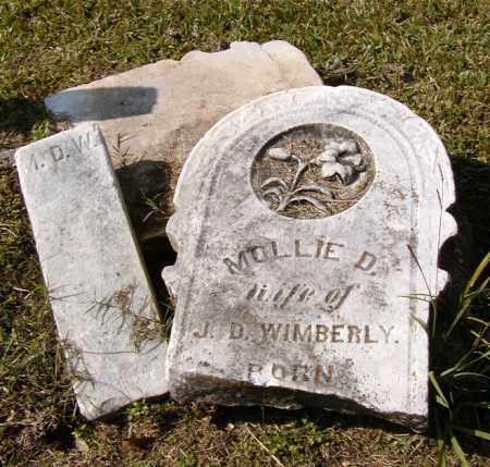 WIMBERLY, MOLLIE D - Ouachita County, Louisiana | MOLLIE D WIMBERLY - Louisiana Gravestone Photos