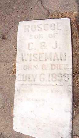 WISEMAN, ROSCOE - Ouachita County, Louisiana   ROSCOE WISEMAN - Louisiana Gravestone Photos