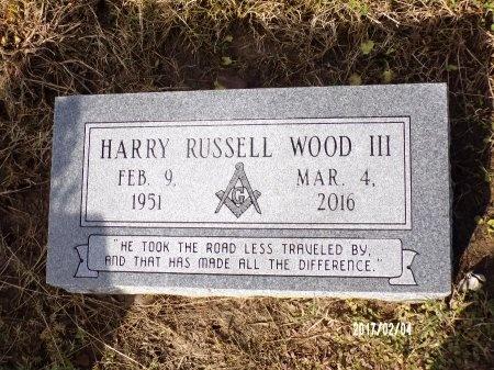 WOOD, HARRY RUSSELL, III - Ouachita County, Louisiana | HARRY RUSSELL, III WOOD - Louisiana Gravestone Photos
