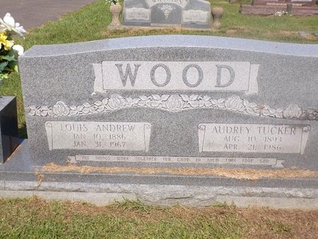 WOOD, AUDREY - Ouachita County, Louisiana | AUDREY WOOD - Louisiana Gravestone Photos