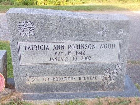 WOOD, PATRICIA ANN - Ouachita County, Louisiana   PATRICIA ANN WOOD - Louisiana Gravestone Photos