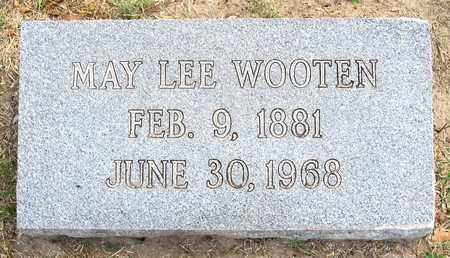 LEE WOOTEN, MAY BURCH - Ouachita County, Louisiana | MAY BURCH LEE WOOTEN - Louisiana Gravestone Photos