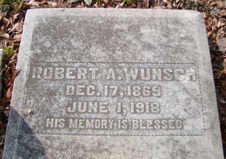 WUNSCH, ROBERT A - Ouachita County, Louisiana | ROBERT A WUNSCH - Louisiana Gravestone Photos
