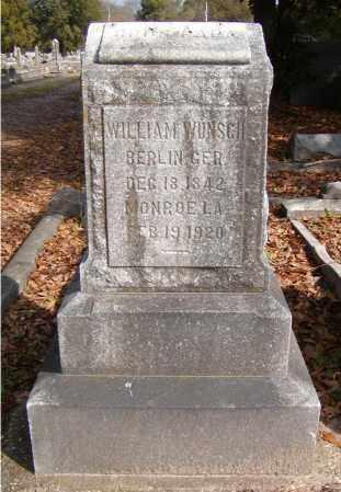 WUNSCH, WILHELM FREDRICH AUGUST - Ouachita County, Louisiana | WILHELM FREDRICH AUGUST WUNSCH - Louisiana Gravestone Photos