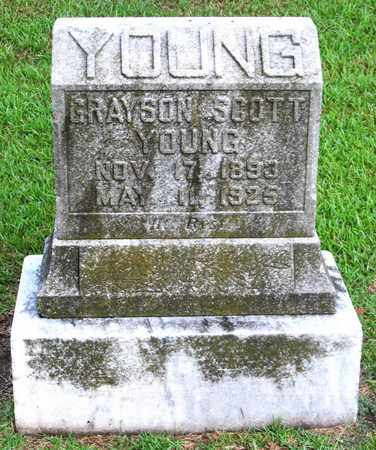 YOUNG, GRAYSON SCOTT - Ouachita County, Louisiana | GRAYSON SCOTT YOUNG - Louisiana Gravestone Photos