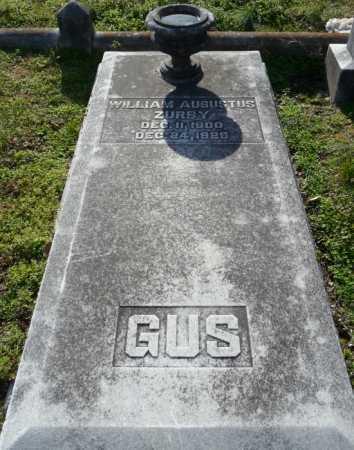 ZURBY, WILLIAM AUGUSTUS - Ouachita County, Louisiana | WILLIAM AUGUSTUS ZURBY - Louisiana Gravestone Photos