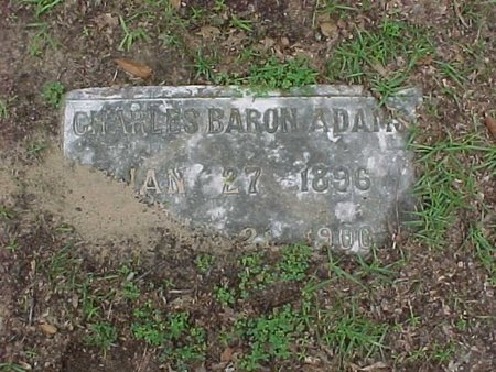ADAMS, CHARLES BARON - Rapides County, Louisiana | CHARLES BARON ADAMS - Louisiana Gravestone Photos