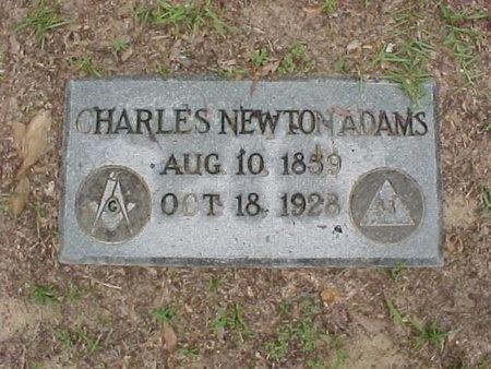 ADAMS, CHARLES NEWTON - Rapides County, Louisiana | CHARLES NEWTON ADAMS - Louisiana Gravestone Photos