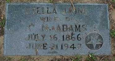 ADAMS, STELLA JANET - Rapides County, Louisiana | STELLA JANET ADAMS - Louisiana Gravestone Photos