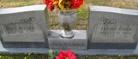 ALDREDGE, FLARIA - Rapides County, Louisiana | FLARIA ALDREDGE - Louisiana Gravestone Photos