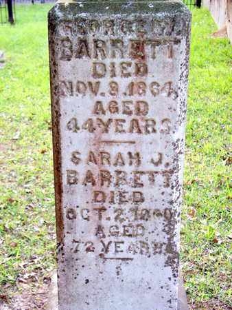 BARRETT, SARAH J - Rapides County, Louisiana | SARAH J BARRETT - Louisiana Gravestone Photos