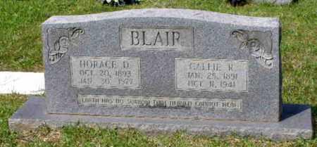BLAIR, HORACE DENNIS - Rapides County, Louisiana   HORACE DENNIS BLAIR - Louisiana Gravestone Photos