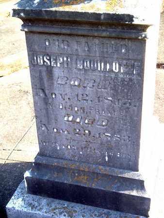 BOUILLOTTE, JOSEPH - Rapides County, Louisiana | JOSEPH BOUILLOTTE - Louisiana Gravestone Photos