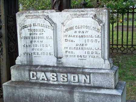 CASSON, ADELIA ELIZABETH (CLOSOEUP) - Rapides County, Louisiana | ADELIA ELIZABETH (CLOSOEUP) CASSON - Louisiana Gravestone Photos