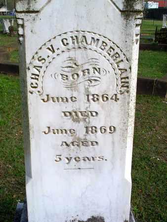 CHAMBERLAIN, CHARLES V - Rapides County, Louisiana   CHARLES V CHAMBERLAIN - Louisiana Gravestone Photos