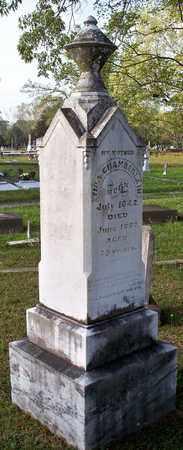 CHAMBERLAIN, FAMILY STONE - Rapides County, Louisiana | FAMILY STONE CHAMBERLAIN - Louisiana Gravestone Photos